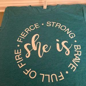 She is Fierce tshirt